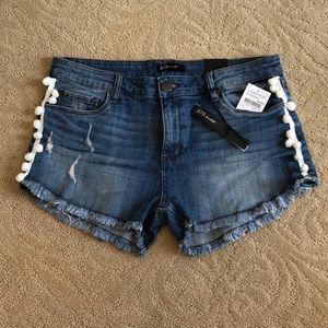 STS Blue cut off jean shorts